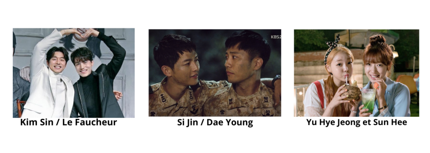 Si Jin and Dae Young